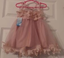 Girl's Sleeveless Mauve Colored Dress by Canis, Size 18 Months, New with tags