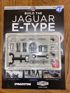 Deagostini Build Your Own 1/8th Jaguar E- type Issue 47
