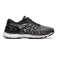 Asics GEL-Nimbus 22 (2E) [1011A685-100] Men Running Shoes Wide White/Black