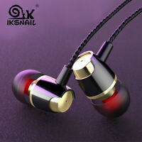 IKSNAIL 3.5mm In-Ear Stereo Earbuds Wired Earphone Super Bass Stereo Headset