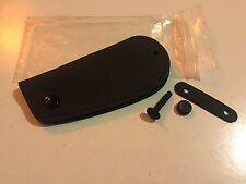 Genuine Bmw Leather Case Key Holder Fob Cover.