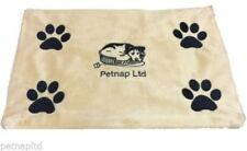 Camas cojines color principal marrón para perros