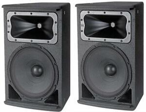 """(2) Pair JBL AC2212/00 Compact 2-Way 12"""" Loudspeaker Auth Dealer Best Price!!"""