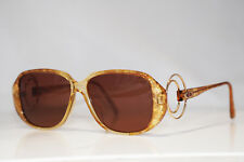 DIOR 1990 Vintage Womens Designer Sunglasses Brown Square 2572 11 15086