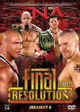 TNA - FINAL RESOLUTION 2008 DVD