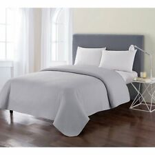Vcny Columbus King Quilt In Grey