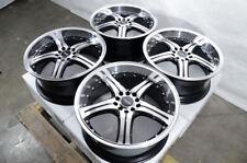 """17"""" Wheels Accord Civic Jetta Corolla Camry Celica Mazda3 Lancer Black Rims"""
