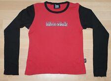 Böhse Onkelz , Logo (silber Glitzer) , Girlie Shirt, Top, Größe L (Ladies)