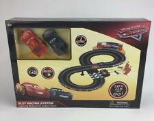 Disney Pixar Cars 3 Slot Racing System Lightning McQueen VS Jackson Storm NEW
