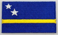 Curacao Flag Patch Embroidered Iron On Applique