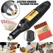 Electric Mini Grinder Polishing Carving Pen Machine Metal Wood Glass Tool Set 1