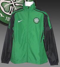 Nuovo Nike Celtic Football Club Giacca Tuta Verde Nero Misura Medium