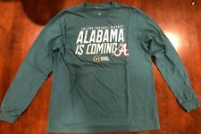 Alabama Crimson Tide College Football Playoff Long Sleeve T-Shirt Size Medium
