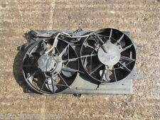 FORD FOCUS ST 170 2.0 16V DURATEC  RADIATOR COOLING TWIN FANS + MOTORS & HOUSING
