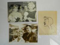 Foto Original Blanchette Brunoy Portraits Promi Schauspieler Komiker