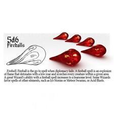 PolyHero Dice: Fireballs d6 (5)
