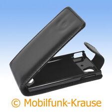 Flip Case Etui Handytasche Tasche Hülle f. Sony Ericsson Xperia Ray (Schwarz)