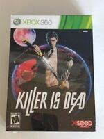 Killer Is Dead -- Limited Edition (Microsoft Xbox 360, 2013) New Factory Sealed