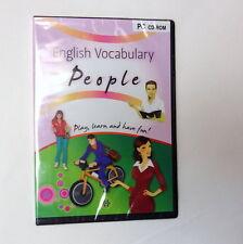 Vocabulario Inglés personas