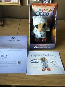 Brand New Sleepy Oleg Meerkat soft toy