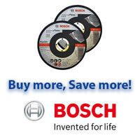 "Bosch 115mm 4.5"" x 22.23 x 1mm Thin Metal Inox Fast Cutting Discs Bosch"
