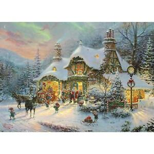 Gibsons Santa's Night Before Christmas Jigsaw Puzzle (1000 Pieces)