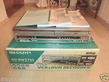 Sharp dv-rw270 Dvd-Recorder/VHS-Video Recorder, in scatola originale, 2 ANNI GARANZIA