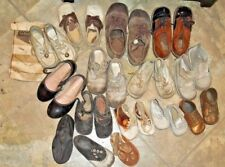 Mixed Lot 27 Baby Toddler Leather Buster copper dipped saddle tap shoes vintage