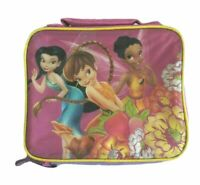 Disney Fairies Friends Thermos Insulated Lunch Bag Box Soft Sided Lunchbox