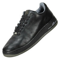 Nike Mens Air Force 1 LTD Seamless Sneakers Size 10M Black Leather 309063-001