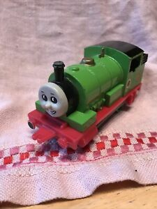 "Ertl Thomas The Tank Engine Toy  #6 Percy 1987 6"" Rolls Along"