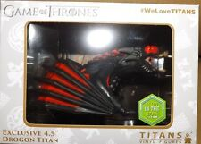 "GAME OF THRONES 4.5"" FIGURE  LIMITED SDCC DROGON GLOW IN THE DARK"