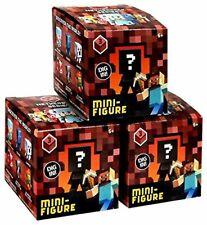Minecraft Minifigures Minecart Série Lot 24 aveugles Boîtes complet NEUF 12 codes