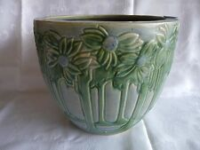 "ROSEVILLE unmarked 10.5"" VISTA - (Large Cache Pot) JARDINIERE  Forest Trees"