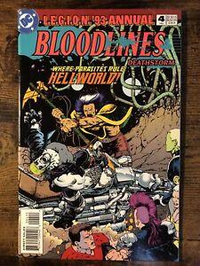 L.E.G.I.O.N. '93 Comic Book Annual #4 DC Comics 1993 Beautiful Copy! AA