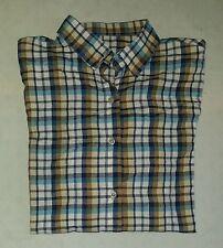 Markenlose Karierte figurbetonte Herren-Freizeithemden & -Shirts mit Kentkragen