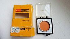 KODAK Series 4  IV~Type A~No. 85~Daylight Filter~ Orange w/Box and Case