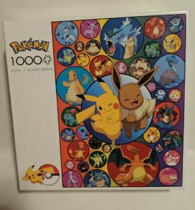 Buffalo Games - Pokémon - Pokémon Bubbles  1000 Piece  Puzzle with poster SEALED