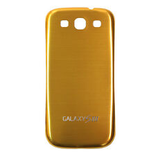 Akkudeckel Samsung i9300/ Galaxy S3 LTE -Metall Alu Batterie Cover Gold