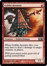*MRM* FR 4x Incendiaire gobelin (Goblin Arsonist) MTG Magic 2010-2015