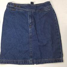 RALPH by RALPH LAUREN Short Blue Denim Skirt Size 2 - FREE SHIPPING!