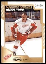 2020-21 UD O-Pee-Chee OPC Base Marquee Legends #546 Gordie Howe - Detroit Red Wi
