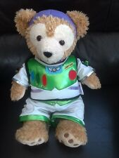 DISNEY DUFFY BEAR WITH BUZZ LIGHTYEAR OUTFIT SOFT TOY