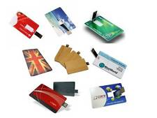 CUSTOM PRINTING USB MEMORY STICK CARD CREDIT STYLE SLIM 2GB, 4GB, 8GB, 16GB