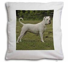 American Staffordshire Bull Terrier Dog Soft Velvet Feel Cushion Co, AD-SBT9-CPW