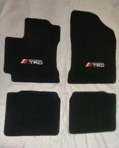 For 14-18 Toyota Corolla  Floor Mats Carpets Black W/Emblem