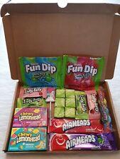 American Sweet Gift Box  - Wonka Laffy taffy - Lemon head - Air head