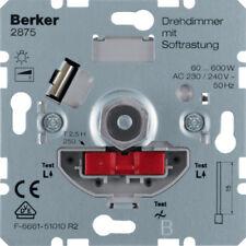 Berker Dimmer M32875 mit Softrastung Hauselektronik