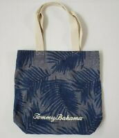 Tommy Bahama Canvas Tote Shopping Beach Bag NWOT