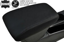 BLACK STITCHING LEATHER ARMREST SKIN COVER FITS VAUXHALL OPEL ASTRA K MK7 2016+